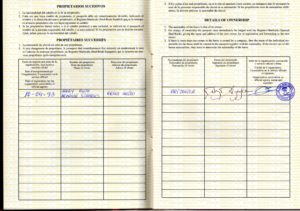 FESCCR 1998 Passport-Ownership-Page